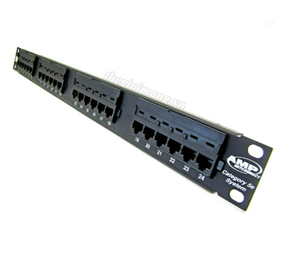 Patch panel 24 port CAT5E...