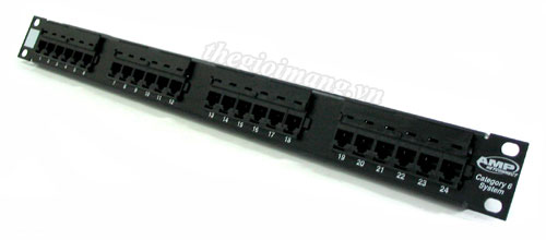 Patch panel 24 port CAT6...