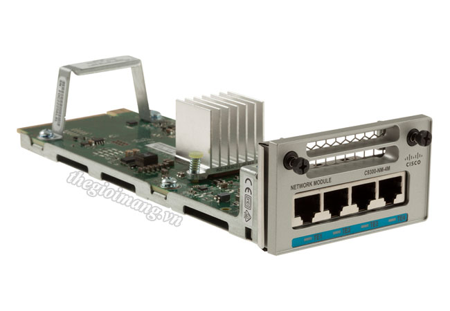 Module Cisco C9300-NM-4M=