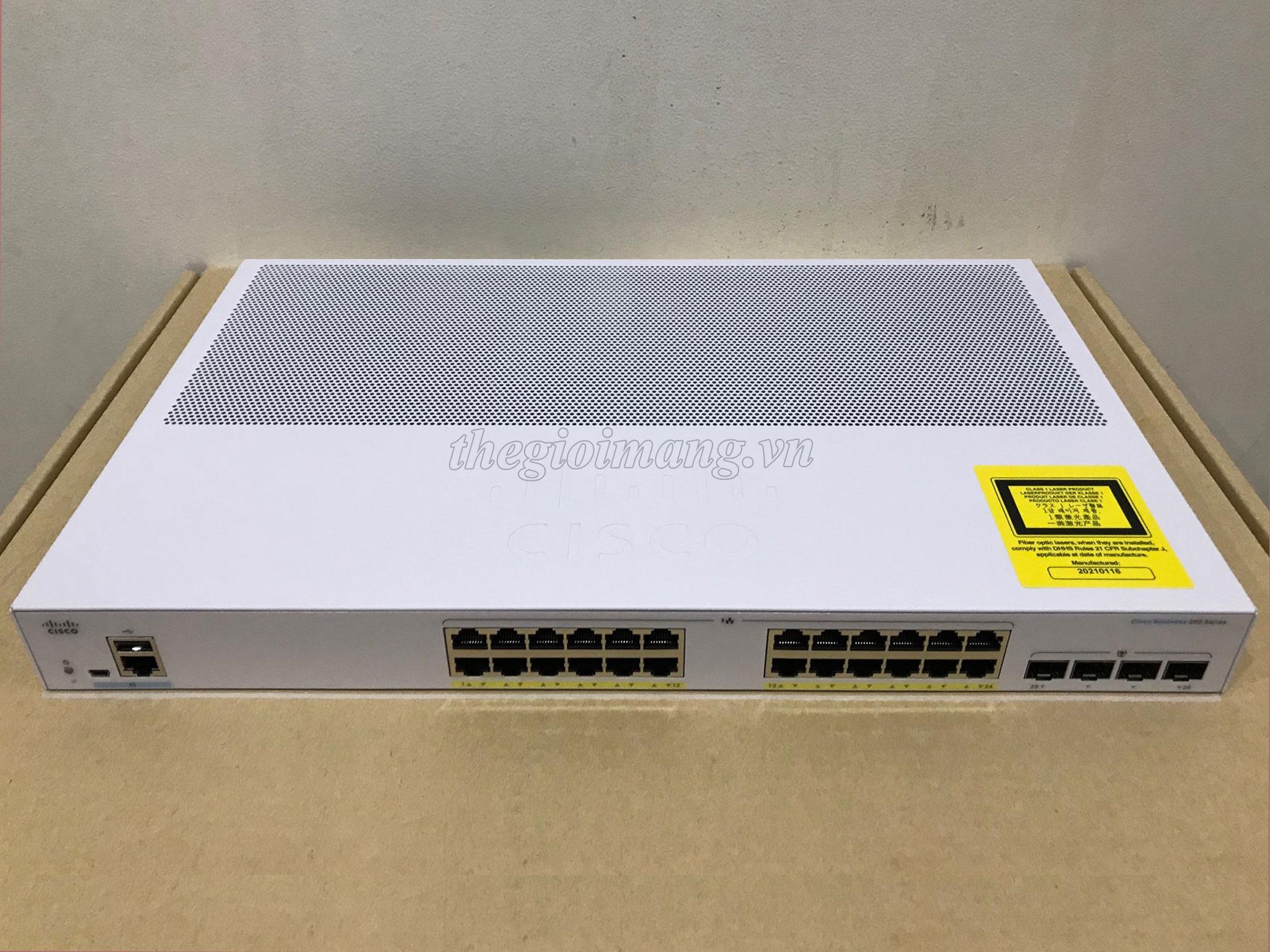 Cisco CBS250-24FP-4G-EU