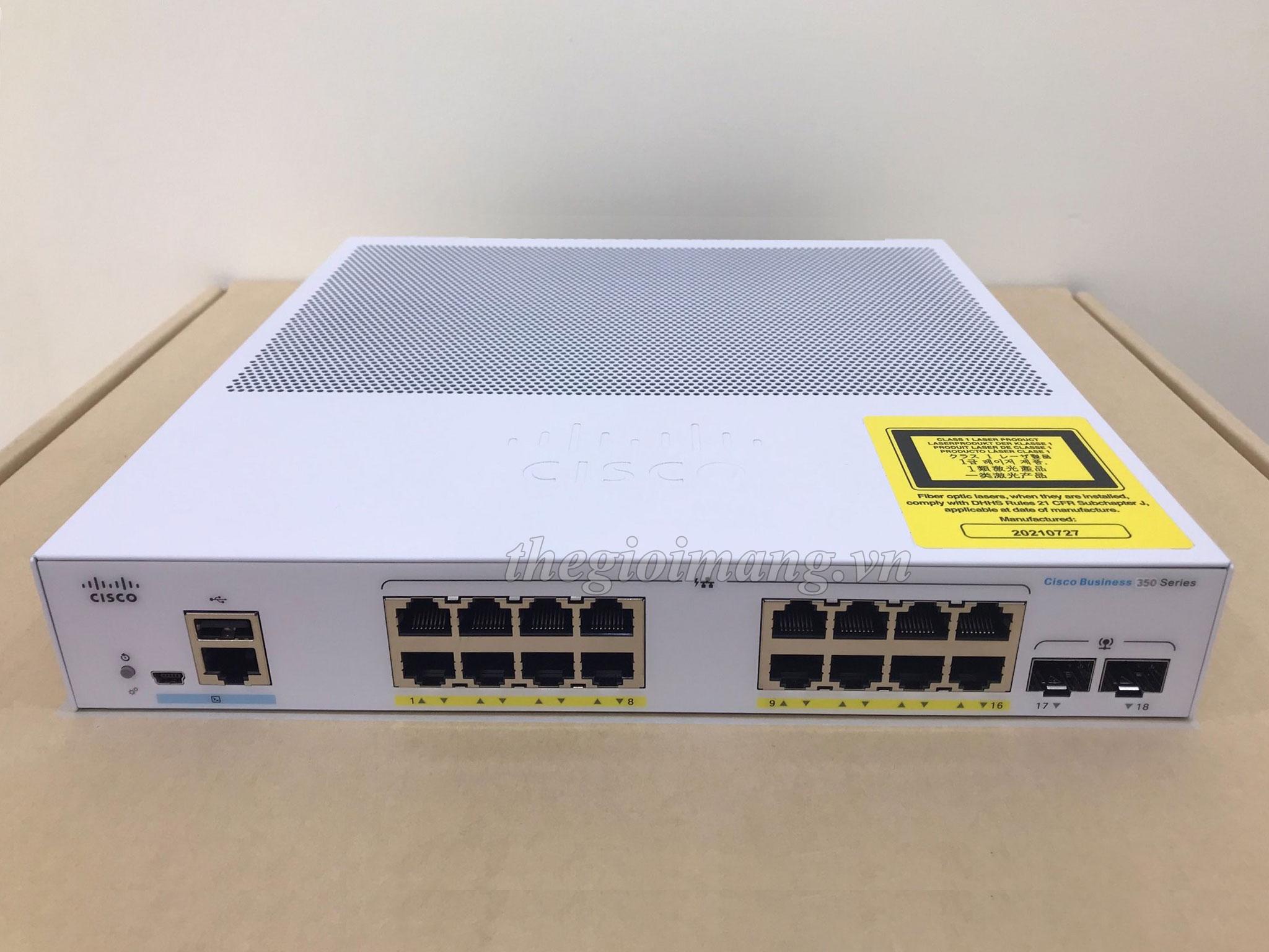 Cisco CBS350-16FP-2G-EU