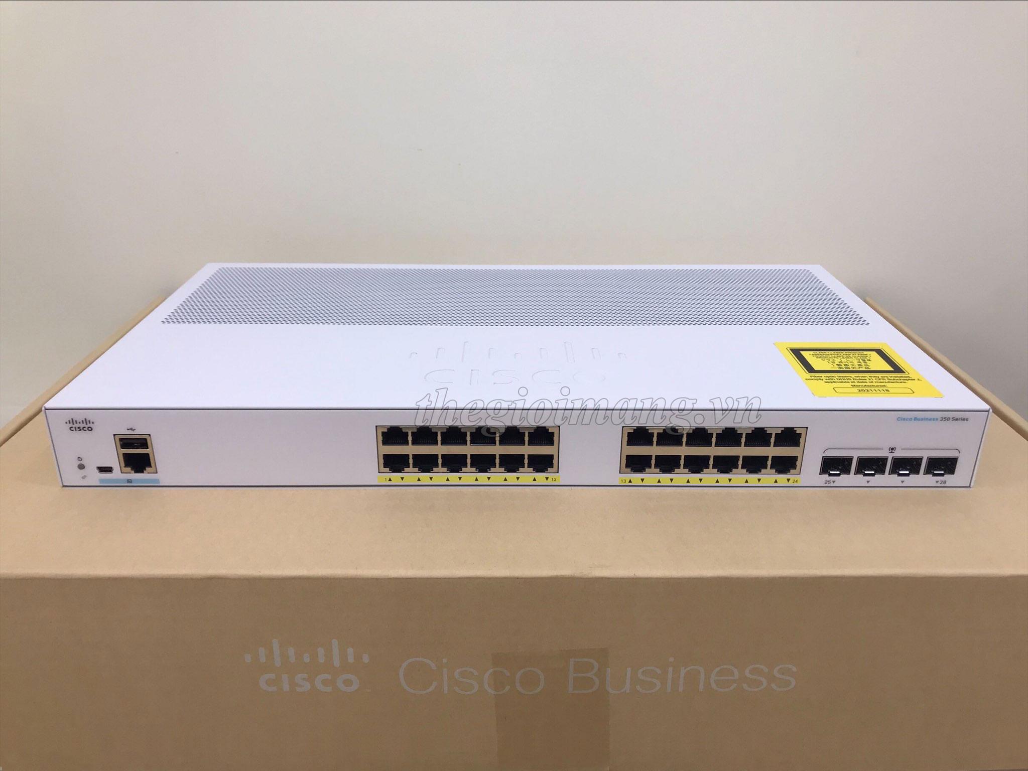 Cisco CBS350-24P-4G-EU