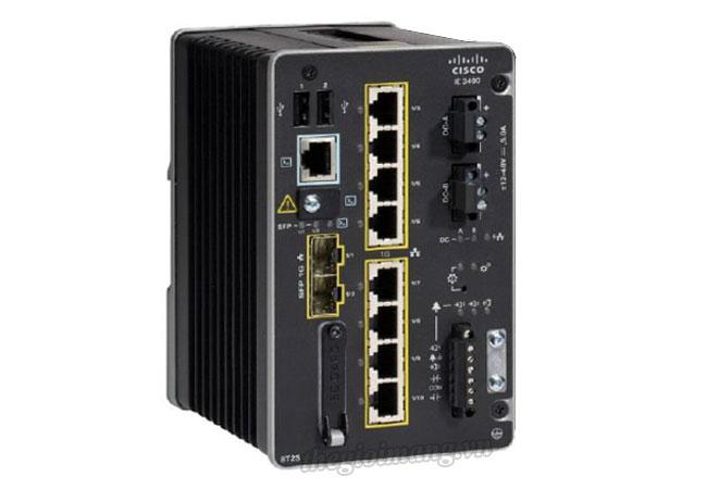 Cisco IE-3400-8P2S-A