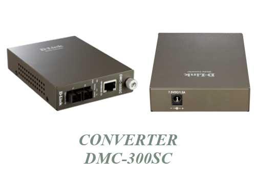 Dlink Converter DMC-300SC