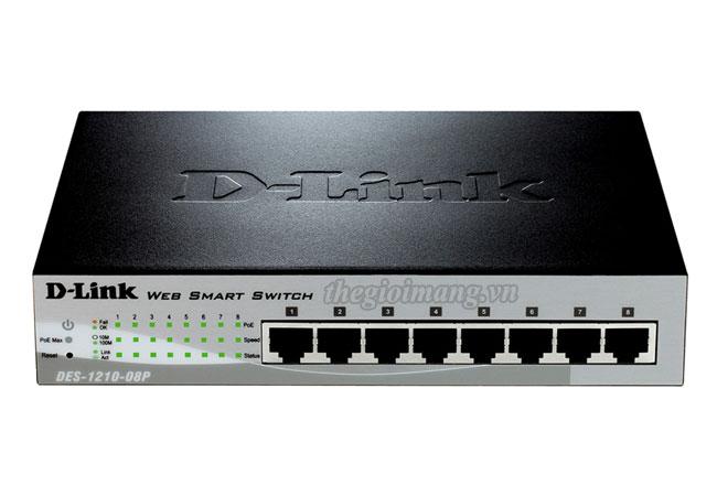 Dlink DES-1210-08P