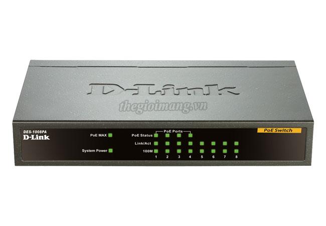 Dlink DES-1008PA