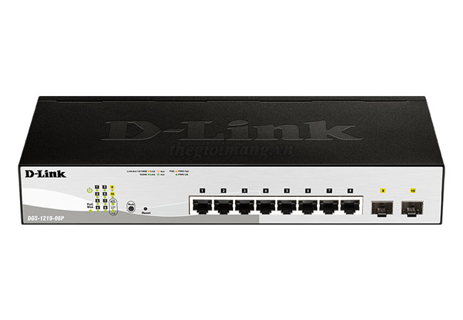 Dlink DGS-1210-08P