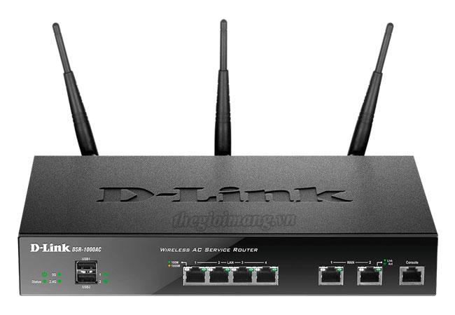 Dlink DSR-1000AC