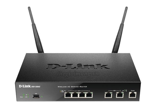 Dlink DSR-500AC