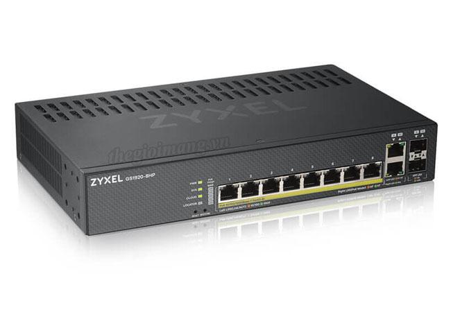 Switch ZYXEL GS1920-8HPv2