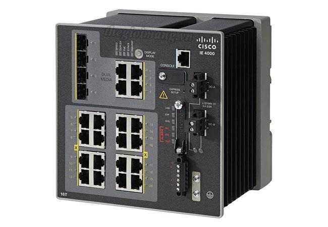 Cisco IE-4000-16T4G-E