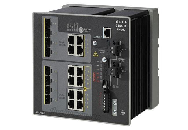 Cisco IE-4000-4GC4GP4G-E