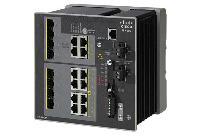 Cisco IE-4000-4GS8GP4G-E