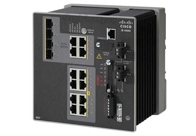 Cisco IE-4000-8GT4G-E