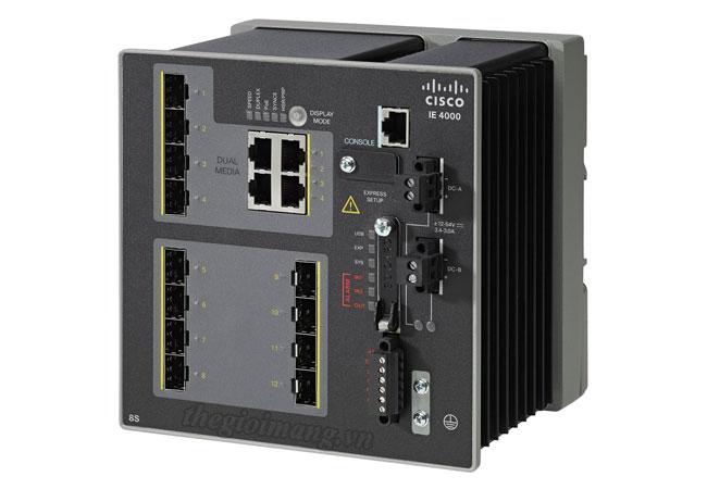 Cisco IE-4000-8S4G-E