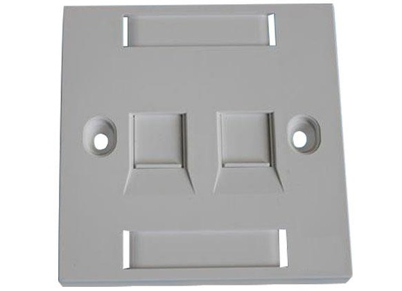 Mặt nạ 2 port Faceplate...