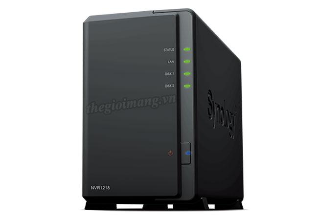 Bán phân phối, cung cấp, lắp đặt thiết bị lưu trữ NAS SYNOLOGY giá tốt NVR1218_front-1565536544-
