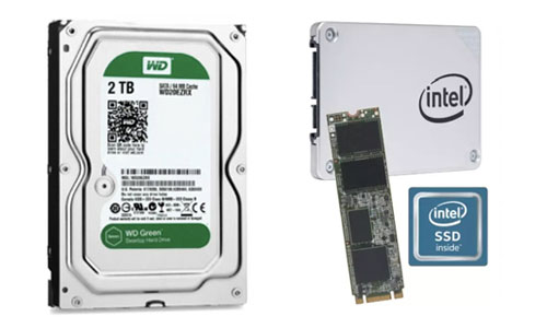 Ổ cứng SSD/HDD