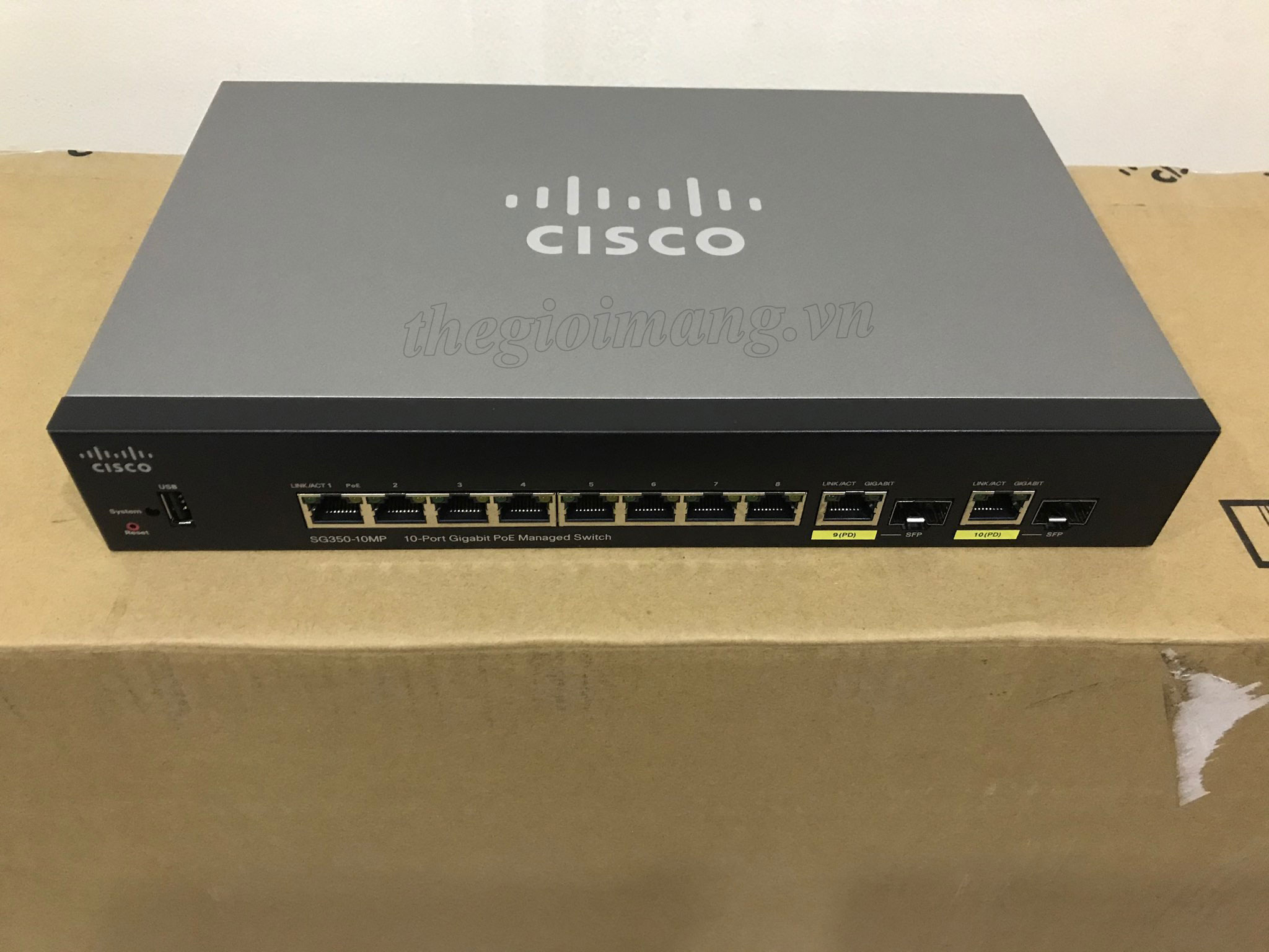 Cisco SG350-10MP-K9-EU