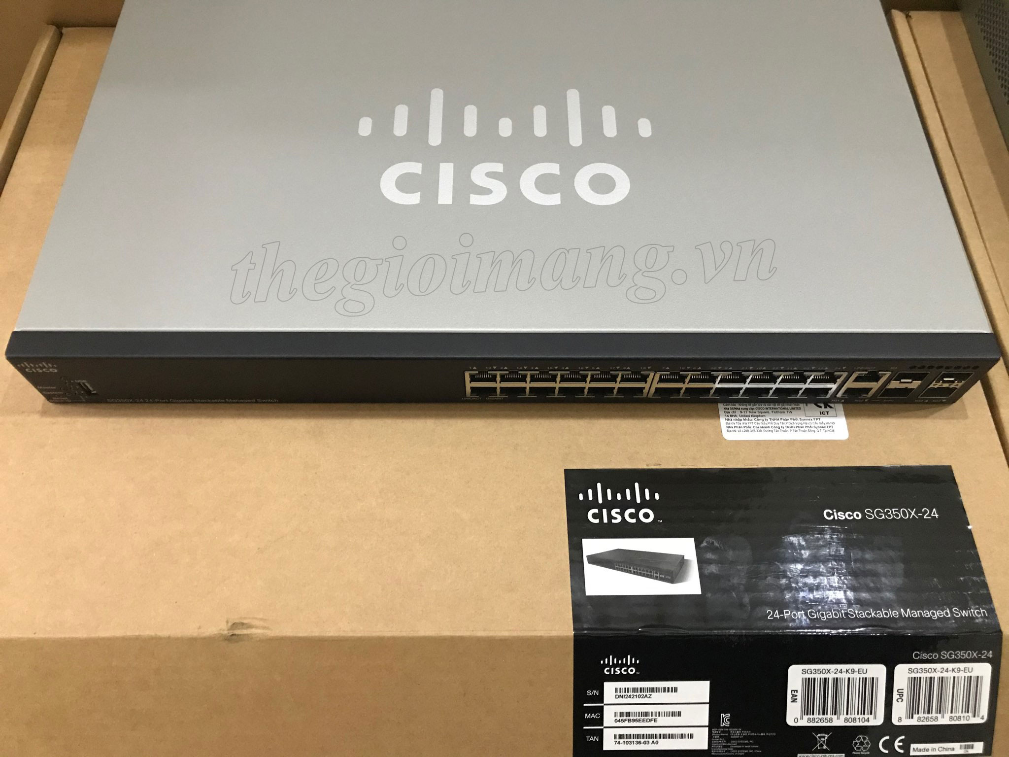 Cisco SG350X-24-K9-EU