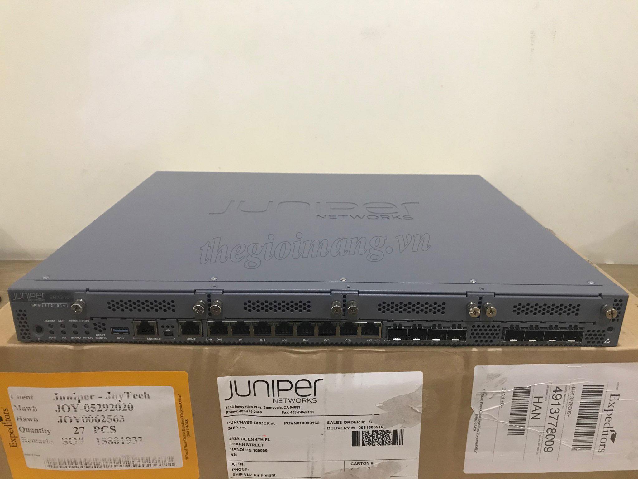 Juniper SRX340