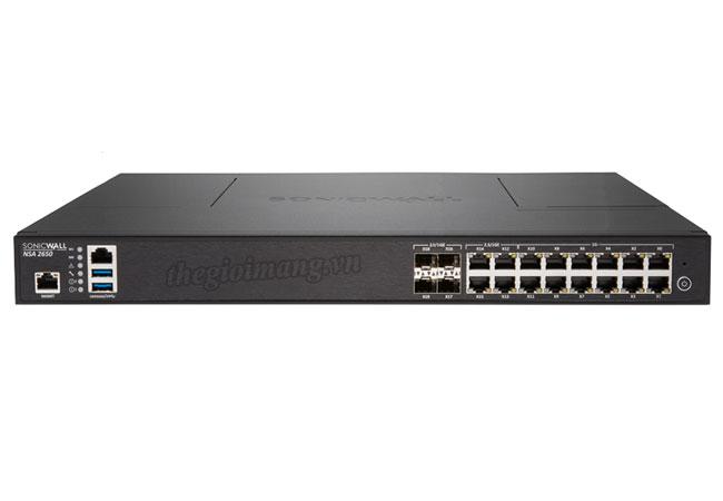 SonicWall NSA 2650 Total...