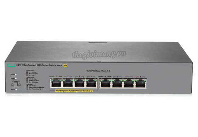 Switch HPE 1820-8G-PoE+...