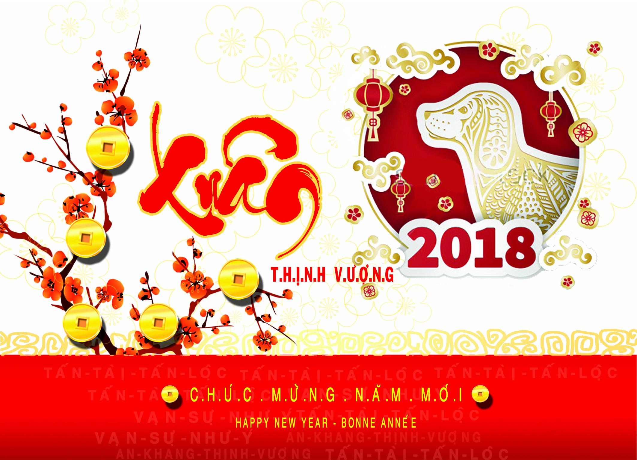 Thông báo lịch nghỉ Tết nguyên đán 2018