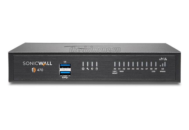 SonicWall TZ470 (02-SSC-2829)