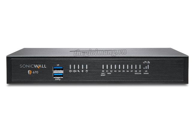 SonicWall TZ670 (02-SSC-2837)