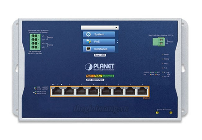 Planet WGS-5225-8UP2SV