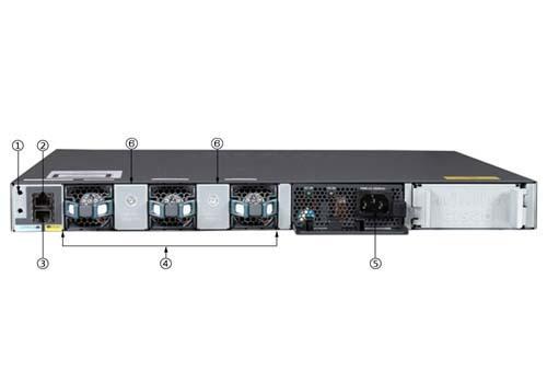 WS-C3650-12X48UR-S Cisco Catalyst 3650 48 Port mGig, 8x10G Uplink, IP