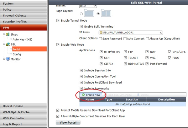 Cấu hình VPN SSL Client to Site trên Firewall Fortigate | Diễn đàn