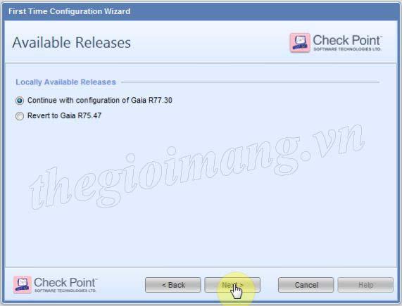Cấu hình cơ bản Firewall Checkpoint 4400 | Diễn đàn Thế Giới Mạng