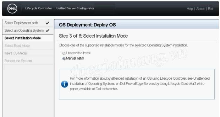 Cài đặt Raid và Windows cho Server Dell PowerEdge   Diễn đàn Thế