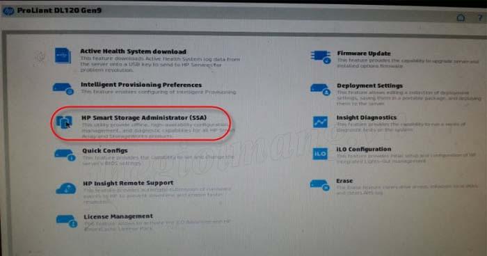 Cài đặt Windows trên Server HP Proliant Gen9 | Diễn đàn Thế